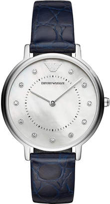 Emporio Armani AR11095 Kappa mother-of-pearl stainless steel quartz watch