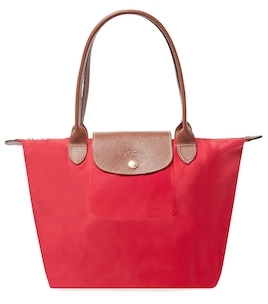 Longchamp Le Pliage Long Handle Small Nylon Tote