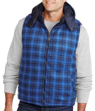 Buffalo David Bitton Climate Concepts Men's Reversible Plaid Vest
