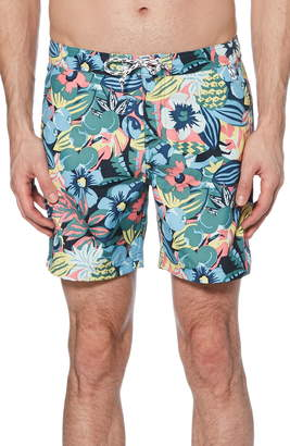 c5d671034a Original Penguin Jungle Print Volley Swim Trunks