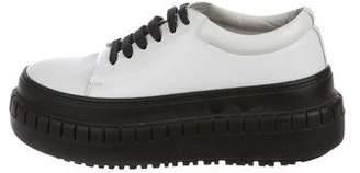 Acne Studios Sacha Flatform Sneakers