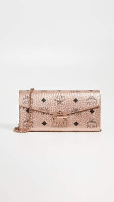 MCM Patricia Two Fold Flap Wallet