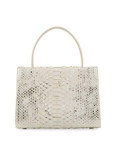Nancy Gonzalez Wallis Mini Python Tote Bag