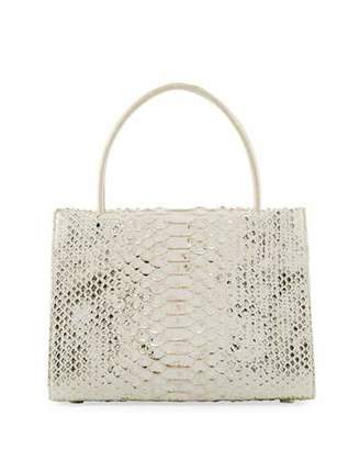 Nancy Gonzalez Wallis Mini Python Tote Bag