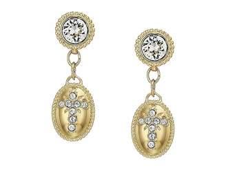 Swarovski Magnetic Pierced Earrings