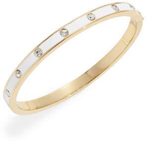 Kate Spade Enamel Stone Hinged Bracelet