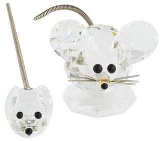 Swarovski 2-Piece Mouse Figurine Set