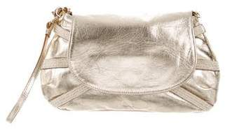 Anya Hindmarch Metallic Leather Clutch