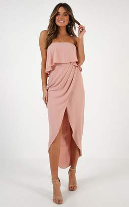 Showpo With Flying Colours dress in nude - 6 (XS) Engagement Dresses