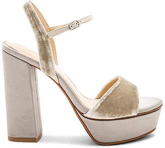 Lola Cruz Ankle Strap Platform Heel