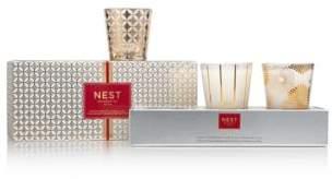 NEST Fragrances Festive Candle Trio Set