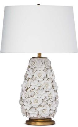 REGINA ANDREW Alice Porcelain Flower Table Lamp