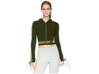 Puma x Fenty by Rihanna Laced Sleeve Sweater Zip Hoodie