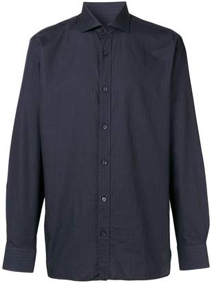 Ermenegildo Zegna long-sleeve fitted shirt