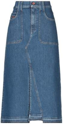 fb0aa40e6 Diesel Denim Skirt - ShopStyle