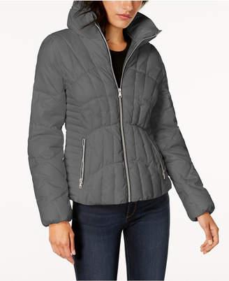 GUESS Stand-Collar Puffer Coat