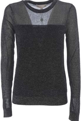 Michael Kors Glitter Knitted Top