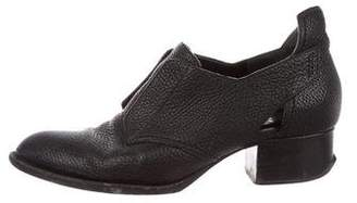 Alexander Wang Pebbled Leather Ankle Boots