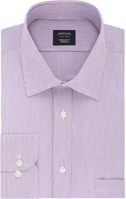 Arrow Men's Regular-Fit Stretch Spread-Collar Dress Shirt