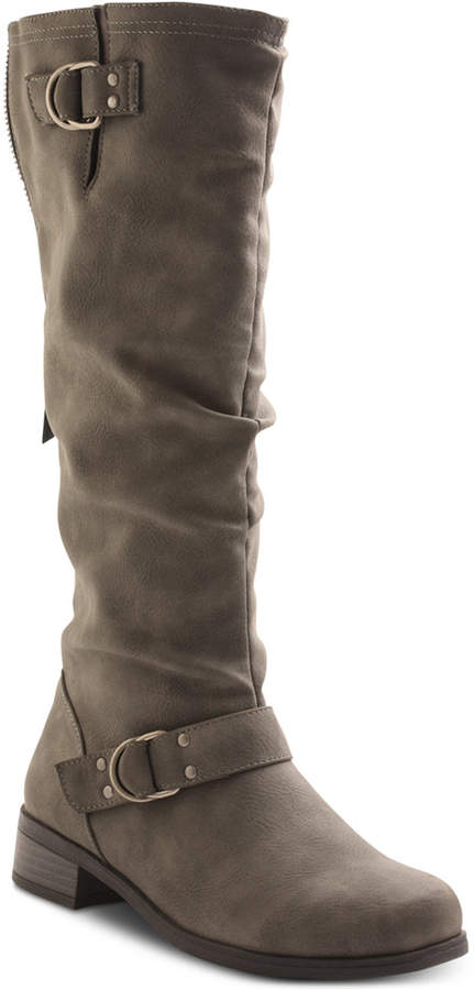 Xoxo Minkler Wide Calf Riding Boots Women's Shoes
