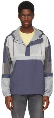John Elliott Grey Sail Pullover Jacket