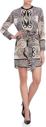 Hale Bob Paisley Belted Dress