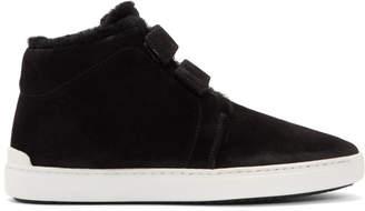 Rag & Bone Black Desert Shearling Kent Sneakers
