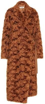 Jil Sander Mohair-blend coat