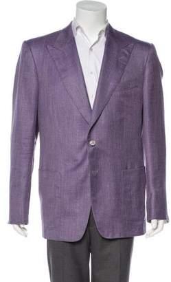 Tom Ford Wool Silk & Linen Blazer