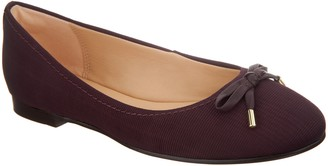 Clarks Leather and Textile Ballet Flats - Grace Lily