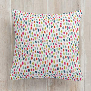 Painted Confetti Square Pillow