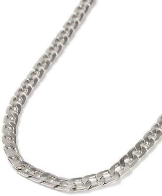 Silver Smooth Chain Necklace*