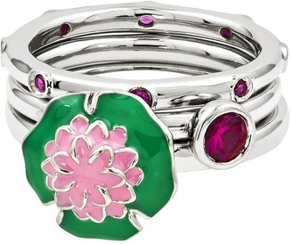 Simply Stacks Sterling July Ring Set