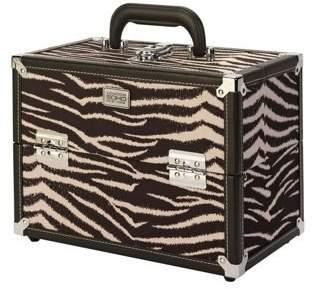 S.O.H.O New York Zebra Hard Beauty Case