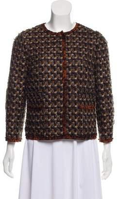 Dolce & Gabbana Virgin Wool Patterned Jacket
