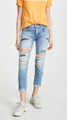 Moussy Vintage MV Hampshire Tapered Jeans