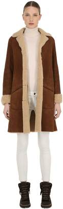 Belstaff CAR SUEDE & SHEARLING COAT