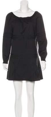 Miu Miu Long Sleeve Shift Dress
