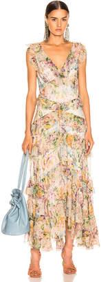 Zimmermann Ninety Six Flutter Dress in Tulip Floral | FWRD
