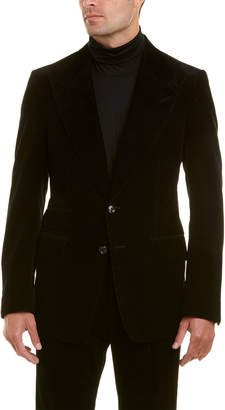 Tom Ford 2Pc Corduroy Suit With Pleated Pant