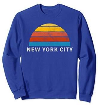 New York City Retro Sunset Sweatshirt
