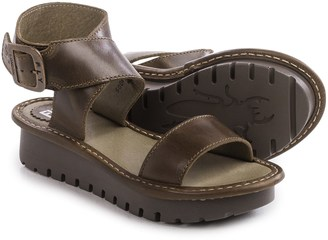 Fly London Kitz Platform Sandals - Leather (For Women) $99.99 thestylecure.com