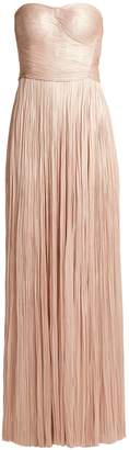 Maria Lucia Hohan Anjoux strapless silk gown