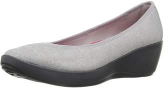 Crocs Women's Busyday Heathered Ballet Wedge Flat