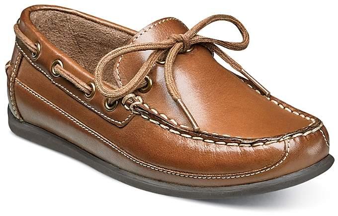 Florsheim Kids Boys' Jasper Tie Jr. Leather Loafers - Toddler, Little Kid, Big Kid
