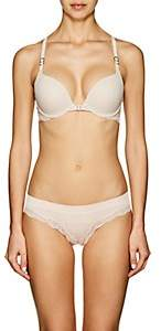 "Stella McCartney WOMEN'S ""STELLA SMOOTH & LACE"" CONTOUR BRA - LIGHT/PASTEL PINK SIZE 36 DCP"