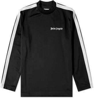 Palm Angels Long Sleeve Track Tee