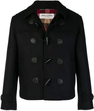 Saint Laurent classic fitted duffle coat