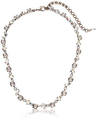 Sorrelli White Bridal Crystal Collective Necklace