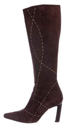 Barbara Bui Suede Knee-High Boots